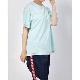 ロゴTシャツ (サックス)