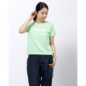 コンパクトTシャツ (アクアブルー)