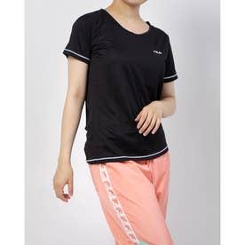 ワンポイントTシャツ (ブラック)