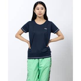 ワンポイントTシャツ (ネイビー)