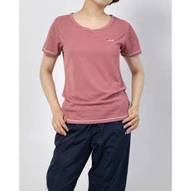 ワンポイントTシャツ (マゼンタ)