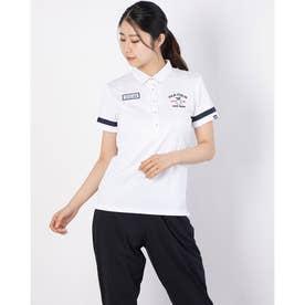 レディース ゴルフ 半袖シャツ 半袖シャツ 751600 (ホワイト)