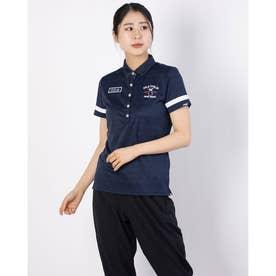 レディース ゴルフ 半袖シャツ 半袖シャツ 751600 (ネイビー)