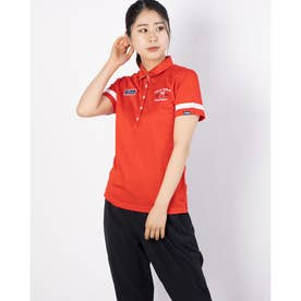レディース ゴルフ 半袖シャツ 半袖シャツ 751600 (レッド)