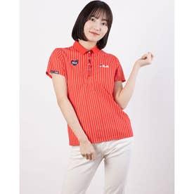 レディース ゴルフ 半袖シャツ 半袖シャツ 751601 (レッド)