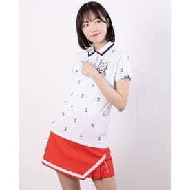 レディース ゴルフ 半袖シャツ 半袖シャツ 751611 (ホワイト)