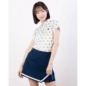 レディース ゴルフ 半袖シャツ 半袖シャツ 751614 (ホワイト)