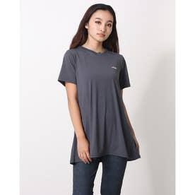 冷感チュニックTシャツ (チャコール)