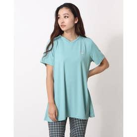 冷感チュニックTシャツ (ミネラル)