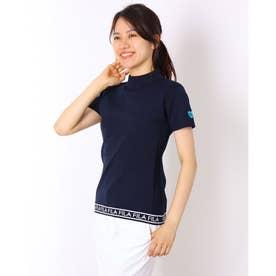 レディース ゴルフ 半袖シャツ ハイネックニットシャツ 791600 (他)