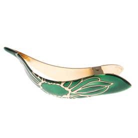 マキシマスクリップ LOTUSコレクション Lサイズ (Emerald w/Gold)