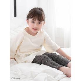 【KIDS】【Disney】ミッキー/ルームウェアセットアップ (ホワイト)