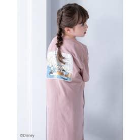 【KIDS】【Disney】ドナルド/ヴィンテージプリントTシャツワンピース (ダスティーピンク)
