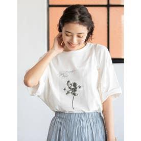 【ユニセックス】オーバーサイズグラフィック柄シェアTシャツ (プリントB)