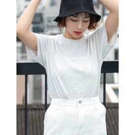 【DISCUS ATHLETIC】USAコットンレギュラーTシャツ (ライトグレー)
