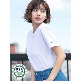 【DISCUS ATHLETIC】USAコットンレギュラーTシャツ (ホワイト)