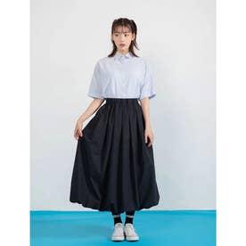 ウエストゴムバルーンスカート (ブラック)