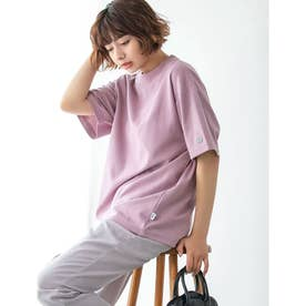 【DISCUS ATHLETIC】吸水速乾BIGシルエットTシャツ (ピンク)