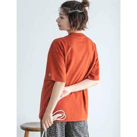 【DISCUS ATHLETIC】吸水速乾BIGシルエットTシャツ (オレンジ)