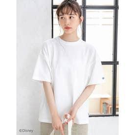 【DISCUS ATHLETIC】吸水速乾BIGシルエットTシャツ (アイボリー)