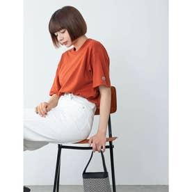 【DISCUS ATHLETIC】吸水速乾ドロップショルダーワイドTシャツ (オレンジ)