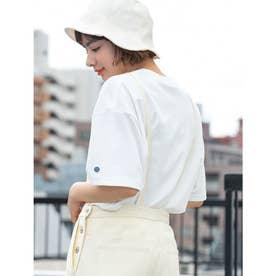【DISCUS ATHLETIC】吸水速乾ドロップショルダーワイドTシャツ (アイボリー)