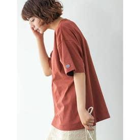 【DISCUS ATHLETIC】USAコットンBIGシルエットTシャツ (ブリックレッド)