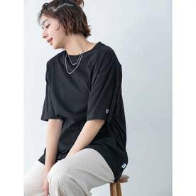 【DISCUS ATHLETIC】USAコットンBIGシルエットTシャツ (ブラック)