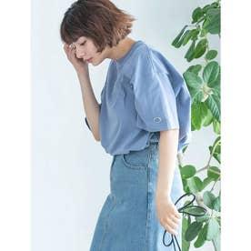 【DISCUS ATHLETIC】USAコットンBIGシルエットTシャツ (ブルー)