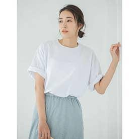 【DISCUS ATHLETIC】USAコットンBIGシルエットTシャツ (ホワイト)