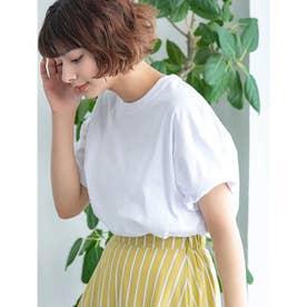【DISCUS ATHLETIC】USAコットンドロップショルダーワイドTシャツ (ホワイト)