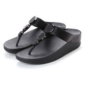 FitFlop HALO TOE THONG SANDALS (Black)