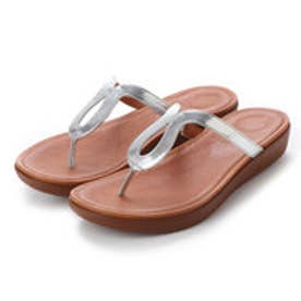 FitFlop STRATA TOE-THONG SANDALS - MIRROR (Silver Mirror)
