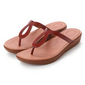 FitFlop STRATA TOE-THONG SANDALS - LEATHER (Cognac)