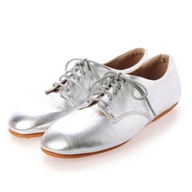 ADEOLA LEATHER LACE-UP DERBYS (Silver)