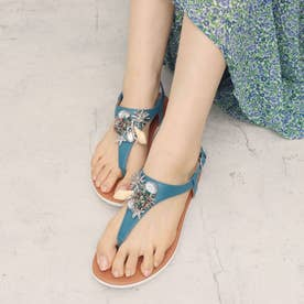 LAINEY UNDER THE SEA  BACK-STRAP SANDALS (Sea Blue)