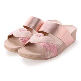 PAISLEY ROPE SLIDES (Soft Pink)