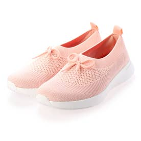 ADORA BOW-DETAIL BALLERINA (Coral Pink Mix)