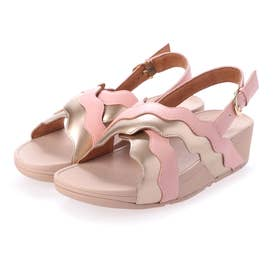 RHYLEE WAVE STRAP BACK-STRAP SANDALS (Soft Pink)