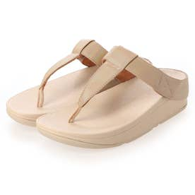 MINA IRIDESCENT TOE-THONGS (Vintage Gold)