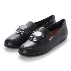 LENA CLUSTER LOAFERS (Black)