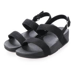 LOTTIE GLITZY SANDAL (Black)