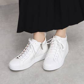 RALLY LEATHER HIGH-TOP SNEAKERS (Urban White)