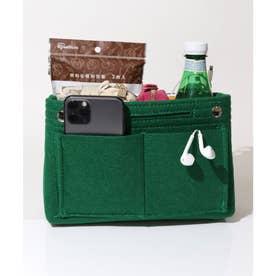 2サイズ展開 トートバッグ等の整理用バッグインバッグ (グリーン)