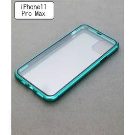 両面ガラスアイフォンケース iPhone11&iPhone11pro&pro max (グリーン)