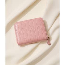 【本革】2wayRFID スキミング防止カードウォレット 24枚口 (ピンク)