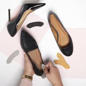 かかとパッド 靴擦れ防止に パンプスのお悩みに・靴脱げ防止・かかと用インソール|フットペタルス/ヘブンリーヒール3色セット厚さ2mm(コンボ)