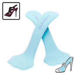 サンダルのフルインソール・レディース靴に 衝撃吸収・前滑り防止・薄型クッション・足裏の痛みや疲れに・スリム形状|フットペタルス/キラークッション厚さ2mm(ブライダルブルー)