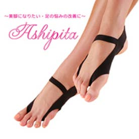 アシピタワンタッチ 美脚になりたい・足の疲れや痛みが気になる方に!・着けているだけで健康な足へ/Ashipita ワンタッチ(ブラック)