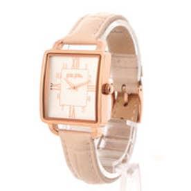 RETRO TIME レザーベルトウォッチ/腕時計 (ピンク)